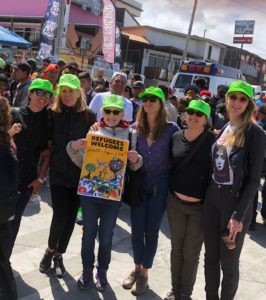 NLG-LA Legal Observers Support Migrant Caravan