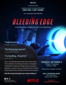 The Bleeding Edge Documentary Film Poster